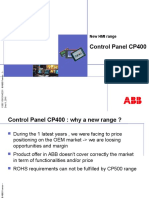 cp400 control panel presentation.ppt