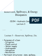 Ce154 Lecture3reservoirsspillwaysenergydissipators 130927044854 Phpapp01