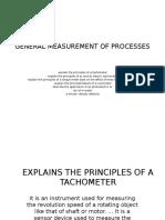 General Measurement of Processes