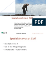 Aagw2010 June 09 Andrew Farrow Spatial Analysis at Ciat