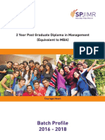 Batch Profile-PGDM16-SPJIMR