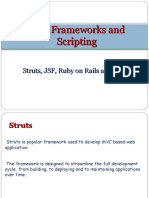Web Frameworks and Scripting
