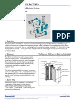Panasonic LiIon Overview
