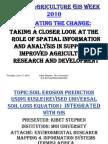 Aagw2010 June 10 Kibet Stephen Soil Erosion Prediction Using Rusle