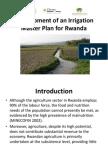 Aagw2010 June 10 Meshack Nyabenge Development of an Irrigation Master Plan for Rwanda