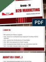 B2B Marketing - MRF