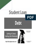 Student Loan Debt eBook BW