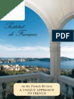 Institut de Francais English