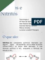 Nitratos e Nitritos (1)