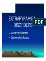 Bms166 Slide Extrapyramidal Disorders