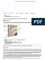 ETW_ Wall - Double Stud With Spray Foam Wall Construction _ Building Science Corporation