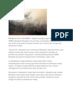 Berita Dan Foto Karhutla Gambut Riau