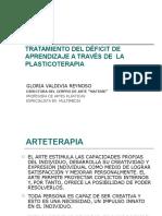 Taller de tratamiento de deficit de aprendizaje a través de la plasticoterapia