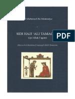 Mahmoud Ibn Matmatiya - Sidi Hajj 'Ali Tamacini