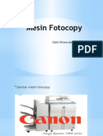 Presentasi Mesin Fotocopy