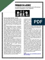 Aprobado en ajedrez (Lectura+Actividades)