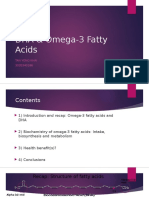 DHA & Omega-3 Fatty Acids