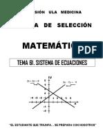 61 Sistema de Ecuaciones