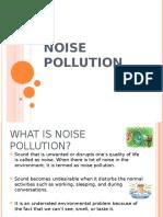 Noise Pollution ppt