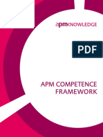 APM Competence Framework - Sample 40 Pages