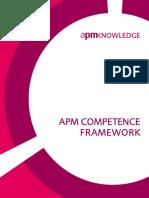 APM Competence Framework - Sample 40 Pages
