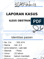 Lapkas Jaga Ileus Obstruktif