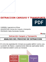 Extraccion Carguio y Transporte 4