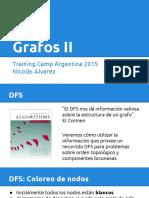 campamento de programacion - Grafos II