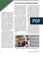Barcode DNA- Sistem Identifikasi Mutakhir Untuk Organisme