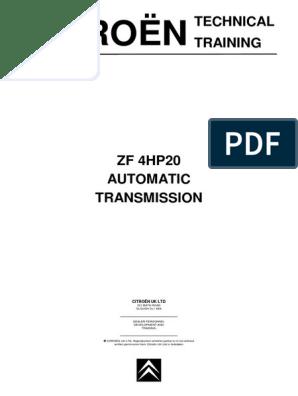 Array - zf4hp20 citroen   automatic transmission   transmission      rh   scribd com