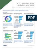 Cio Survey 2016 Retail Lesiure