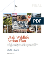 Utah Wildlife Action Plan, 2015-2025