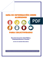 Guia Informacion de Alergenos Colectividades