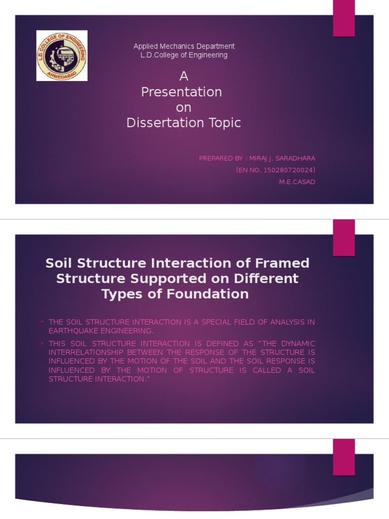 Dissertation topics for mechanical engineering
