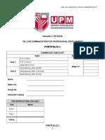 CEL 2106 . Portfolio 2 . Descriptions &Amp; Forms