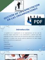 Gestión de La Capacitacion en Las Organizaciones