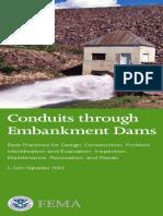 Conduits Through Embankment Dams