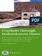 Conduits Through Embankment Dams