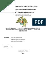 Administracion - Semana 13 Estatutos Financiero