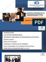 INCIDENCIA TRIBUTARIA DE LAS OPEERACIONES SOCIETARIAS SETIEMBRE 2015 - CPC. RAMON CHUMAN ROJAS.pdf
