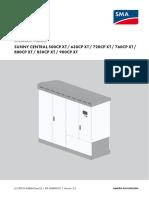 Sunny Central Installation Manual
