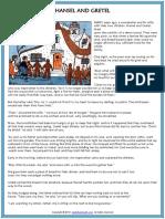 hansel and gretel fairy tale reading worksheet