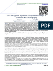 DNA Encryption Algorithms