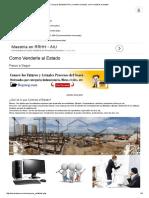 Compras Estatales Peru, Vendele Al Estado, Como Venderle Al Estado