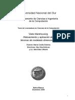 Data Warehousing Relevamiento y Aplicacion de Tecnicas de Modelado Dimensional