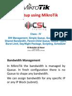 CSLtraining MikroTik Class 4