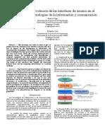 Estudio sobre la evolución de las interfaces de usuario en el desarrollo de las tecnologías de la información y comunicación