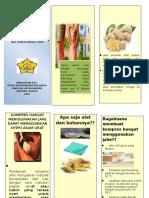 Leaflet Terapi Modalitas Asam Urat