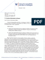 FOIA Request - OGE (Trump Transition) 12-7-16