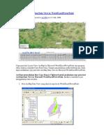 Copy Peta Dari ArcMap Data View Ke Word Excel PowerPoint